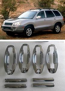 New Abs Chrome Door Handle Covers Trim   Cup Bowl For