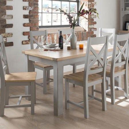 wilkinson furniture clemence soft grey  solid oak
