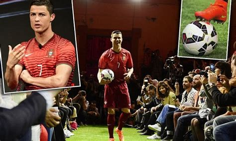 cristiano ronaldo unveils nike mercurial superfly boots
