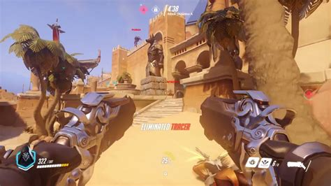 overwatch reaper gameplay preview gamescz