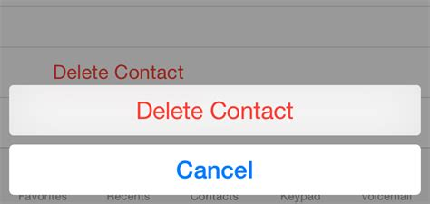 how do you delete a contact on iphone iphone basics tip how to delete a contact ios 8 apps