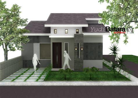desain rumah minimalis  lantai tampak depan gambar foto