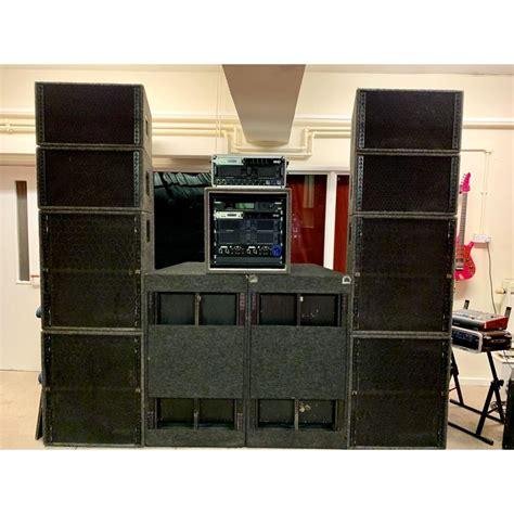 NEXO Alpha E Stacks and NEXO Alpha B2 Subs - Buy now from 10Kused