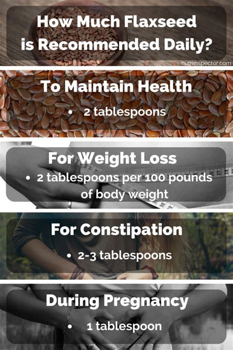 How Much Flaxseed Is Recommended To Eat Per Day?  Nutri