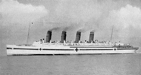 hospital ship britannic history