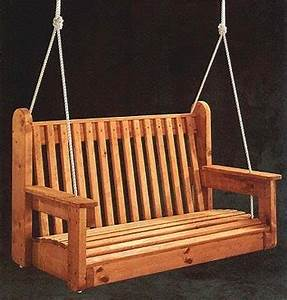 Porch Swing Free Woodworking Project Plans