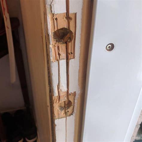 how to fix a door frame door in repair project location west vancouver