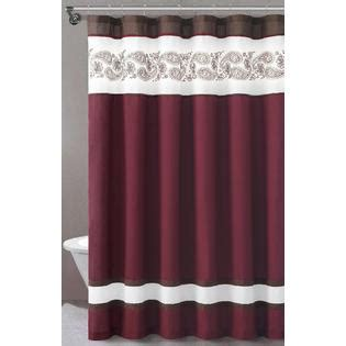 kmart shower curtains essential home isabelle fabric shower curtain home bed