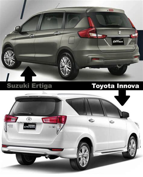 New Suzuki Ertiga Follows Toyota Innova Design Language