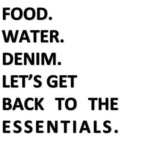 Denim essentials   denim quote words   #denimlovestories / #jeansmonamour   Pinterest ...