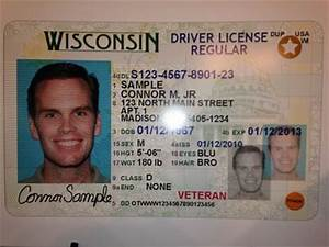 report wisconsin veterans have trouble applying for new With wisconsin drivers license template