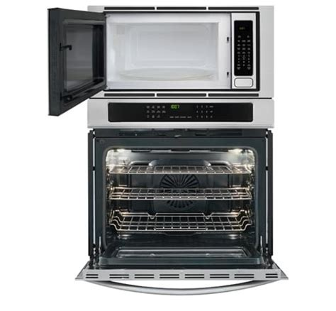 30'' Electric Wall Oven/Microwave Combination Stainless