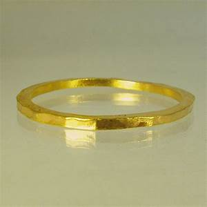 pure solid gold wedding band 24 karat solid gold by With 24 karat gold wedding ring
