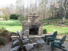 Image of: Spring Coming Deck Patio Season Charlotte Archadeck Charlotte Pick One The Best Outdoor Fireplace Designs And Spots