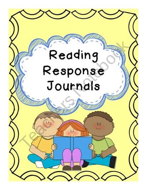 reading response journal cover 96 best reading response journals images on