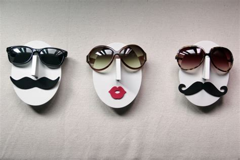 Eyeglass Holder Stand your glasses have mustache 1 design per day