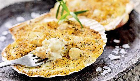 cuisiner les coquilles st jacques surgel s 2 coquilles aux poissons et aux noix de jacques