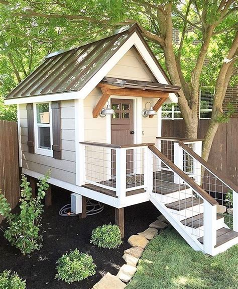 Backyard Play House by 22 Best Cubby House Decoration Ideas Images On