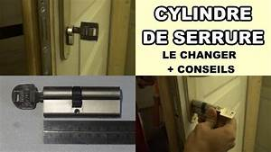 comment changer un cylindre de serrure porte barillet With changer un barillet de porte d entree