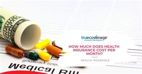 Your life insurance cost can vary greatly depending on how much you apply for and how long the coverage will last. How much does health insurance cost per month?