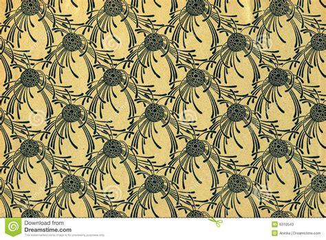 vintage floral wallpaper stock image image