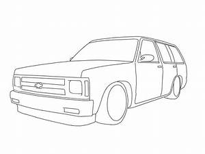 Silverado Drawing At Getdrawings