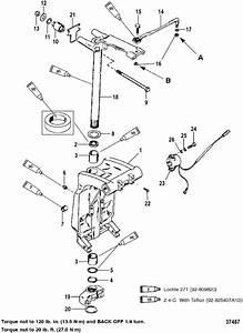 Swivel Bracket And Steering Arm For Mariner    Mercury 150  175  200 Efi