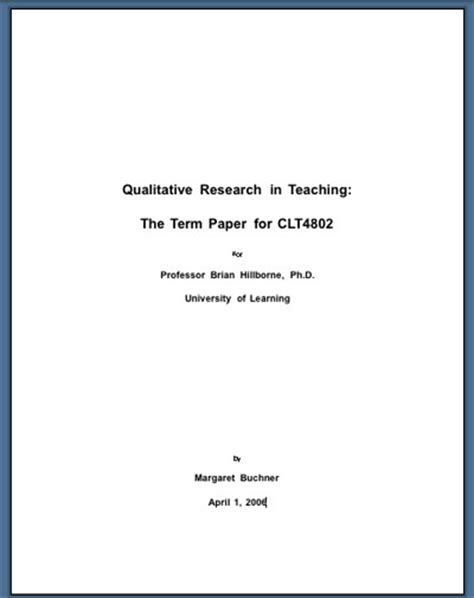 How To Write A Title Page For A Resume phd thesis title page exle