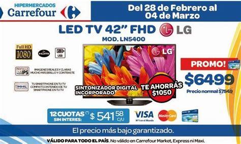 promo tv carrefour ofertas y promos en argentina ofertas carrefour fin de semana