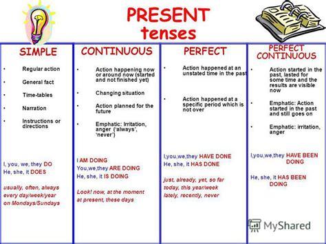 english teacher   present tenses