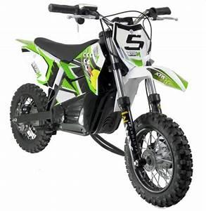 Mini Moto Electrique : moto cross electrique 800w 10 10 vert ~ Melissatoandfro.com Idées de Décoration