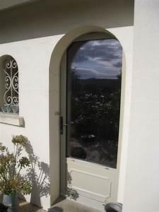 Moustiquaire Porte D Entrée : porte d 39 entr e aluminium sur mesure vitr e ou pleine ~ Melissatoandfro.com Idées de Décoration