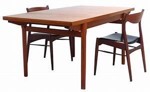 Table Scandinave Enfant : table scandinave vintage en teck ann es 70 design market ~ Teatrodelosmanantiales.com Idées de Décoration