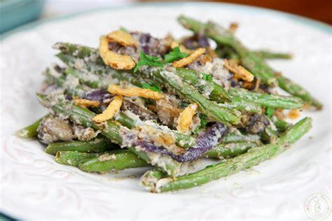 green beans  cashew cream recipe dishmaps