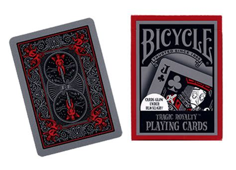 Bicycle Gaff Deck Tricks by Cards Bicycle Tragic Royalty Uspcc Deck Cards