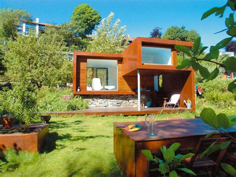 a tiny house surrounded by nature casa kolonihagen