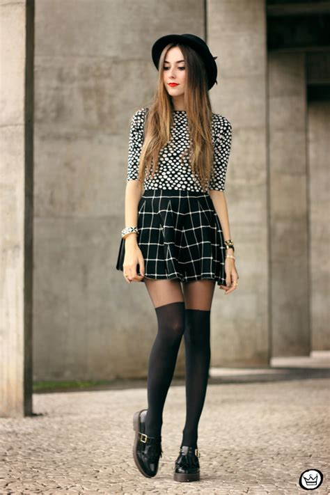 Flu00e1via Styling Faux Thigh Highs | Tights Review