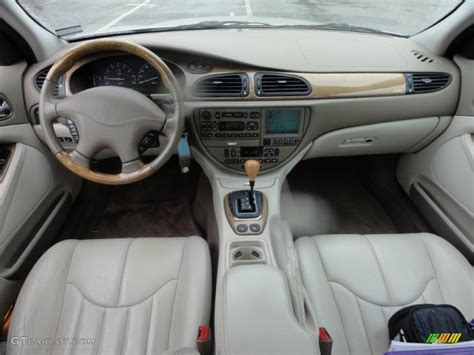 2000 Jaguar S-type 4.0 Ivory Dashboard Photo #49441078