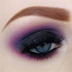 Dark purple smokey eye | Makeup inspiration | Pinterest ...