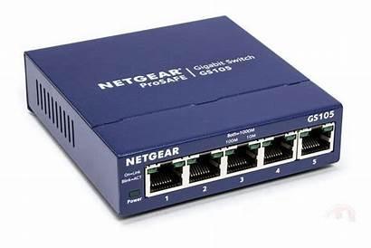 Switch Port Gigabit Netgear Desktop Prosafe Gs105