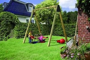 Schaukel Für Erwachsene Garten : kinderschaukel aus holz f r den garten online magazin ~ Watch28wear.com Haus und Dekorationen