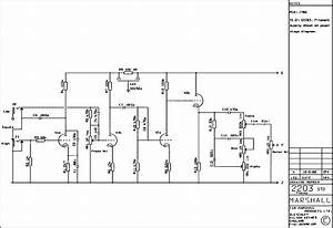 Marshall Jcm800 Lead Mstvol 100w 2203 Service Manual