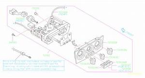 2004 Subaru Forester Knob Fan  For Manual A  C