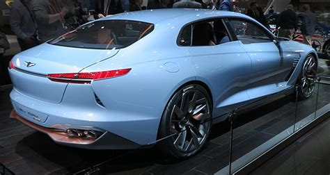 Genesis Unveils Hybrid Sport Sedan