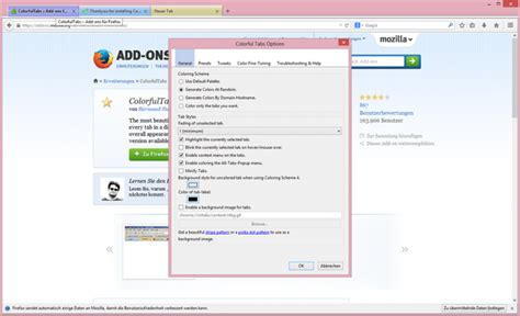 colorful tabs colorfultabs freeware de