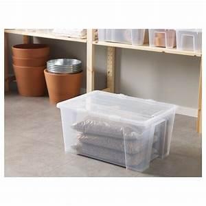 Ikea Boxen Samla : samla box mit deckel transparent ikea ~ Watch28wear.com Haus und Dekorationen