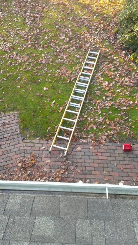 putting christmas lights on roof i was putting up lights but now it looks like im stuck on the roof for the time being