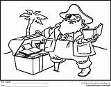 Coloring Pages Pirate Treasure Library Chest Idaho Printable Books Drawing Libraries Preschool Pdf Getdrawings State Boys Popular Coloringtop Luxury sketch template