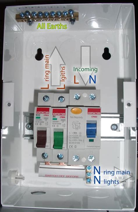 Changing Garage Consumer Unit Page Diynot Forums
