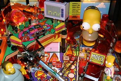 Pinball Wallpapers Simpsons Tspp Party Machine Janky